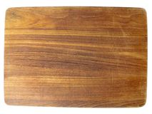 Dark chopping board Royalty Free Stock Photography