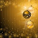 Dark Christmas background Stock Photography