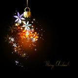 Dark Christmas background Royalty Free Stock Images
