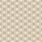Dark Circles Abstract Pattern on Beige Stock Photography