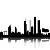 Dark city Stock Image