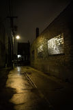 Dark City Alley Stock Photos