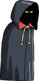 Dark cloak Royalty Free Stock Image
