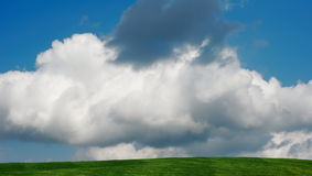 The dark cloud Stock Photography