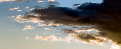 Dark cloud Royalty Free Stock Photos