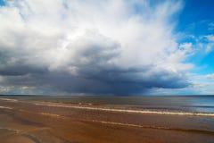 Dark cloud. Royalty Free Stock Image