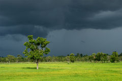 Dark Cloud of Rainy Season Royalty Free Stock Images