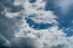 Image of Dark cloud. Dark cloud of thunder storm royalty free stock image