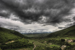 Dark Clouds royalty free stock photography