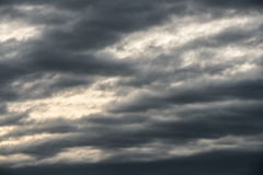 Dark clouds royalty free stock image