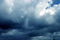 Dark Clouds. Before rain stock images