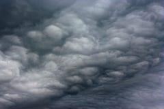 Dark clouds as if armageddon. Stock Image
