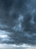 Dark clouds background Stock Photography