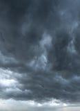 Dark clouds background Stock Photo