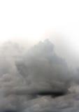 Dark clouds, bright sky Stock Photos