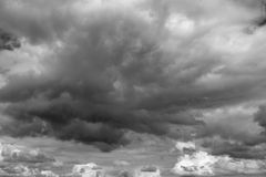 Dark clouds. Stock Photography