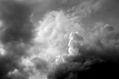 Dark clouds. Dark clouds before the rain royalty free stock images