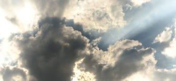 Dark clouds before rain Royalty Free Stock Photo