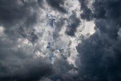 Dark clouds. Royalty Free Stock Photos