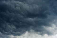 Dark clouds in the sky Royalty Free Stock Image