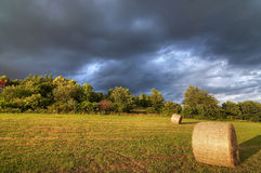 Dark clouds before storm Royalty Free Stock Photography