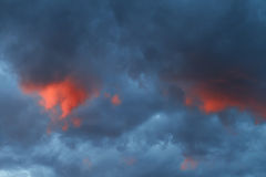 Dark clouds Royalty Free Stock Images
