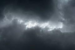 Dark clouds Stock Photos