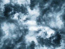 Dark clouds before a thunder-storm Stock Photography