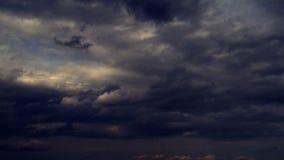 Dark Clouds timelampse sky. HD 1080i stock video