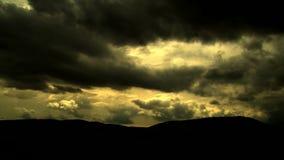 Dark Clouds timelampse sky. HD 1080i stock video footage