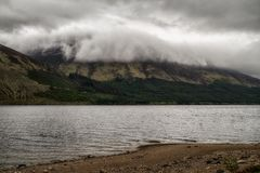 Lake Loch Lochy in Scotland stock image