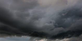 Dark clouds. Weather Strom before raining royalty free stock photo