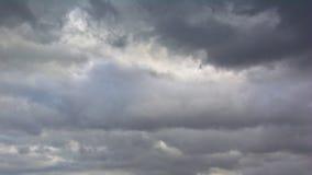 Dark cloudy sky Stock Images
