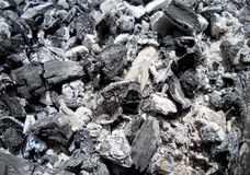 The dark coals Royalty Free Stock Images