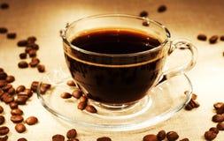 Dark coffee Stock Images