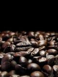 Dark coffee beans Royalty Free Stock Photo