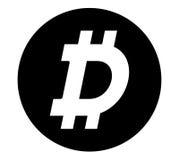 Dark Coin Concept Design Stock Photos