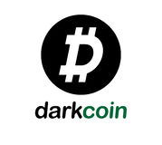 Dark Coin Concept Design Royalty Free Stock Images