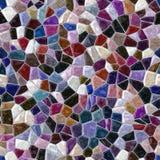 Dark color full marble irregular plastic stony mosaic seamless pattern texture background Royalty Free Stock Photos