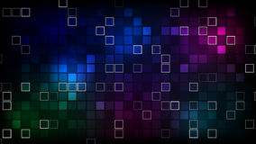 Dark Color Squares. Squares randomly hued in Dark colored background Royalty Free Stock Photos