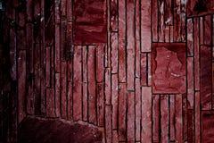 Dark color stone of walls. Stock Image