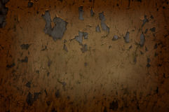 Dark, colored, concrete wall. Spot of light on the dark wall Stock Image