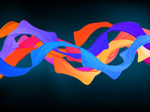 Dark colorful abstract background. EPS 8 Stock Photos