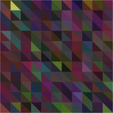 Dark colorful triangle and square beautiful background Stock Image