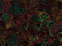 Abstract background. Dark colors chaotic abstract vector background Royalty Free Stock Photos