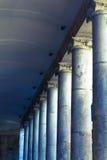 Dark columns in La Boqueria Stock Image