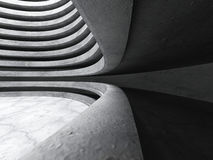 Dark concrete abstract urban architecture background Stock Photography