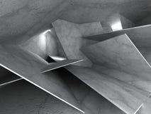 Dark concrete chaotic construction background Stock Image