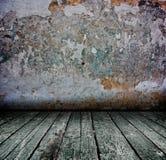 Dark concrete interior Royalty Free Stock Image