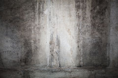 Dark concrete wall with vignette photo effect Stock Image
